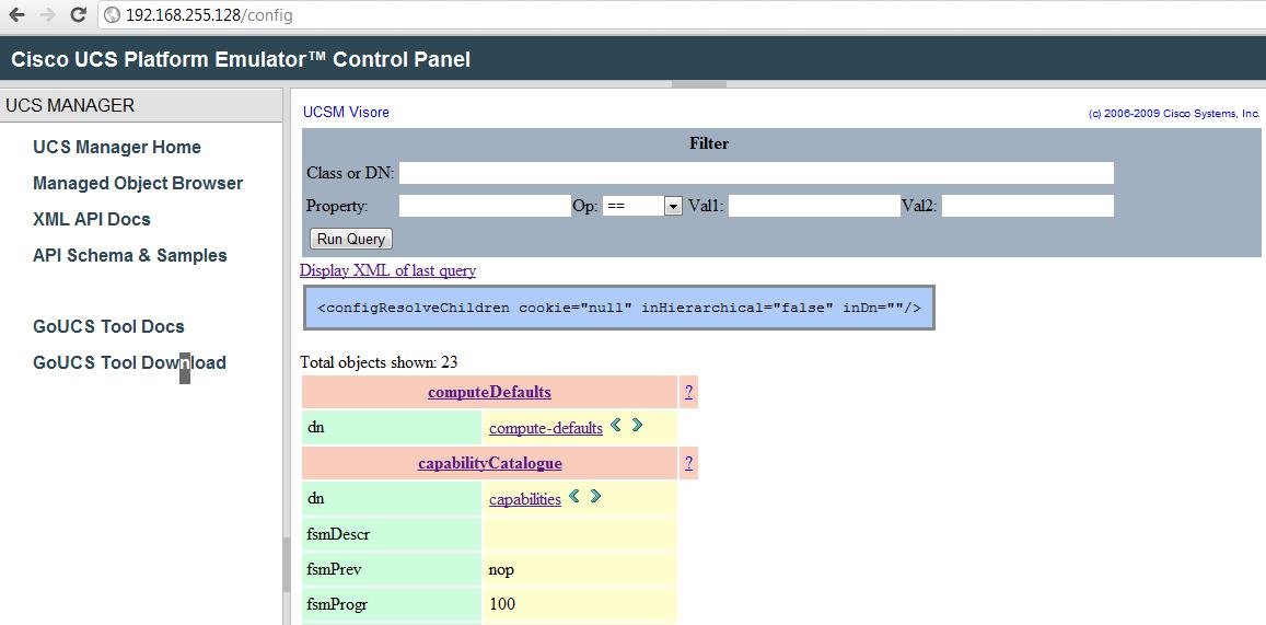 Cisco UCS Emulator | DoubleCloud => Private Cloud + Public Cloud
